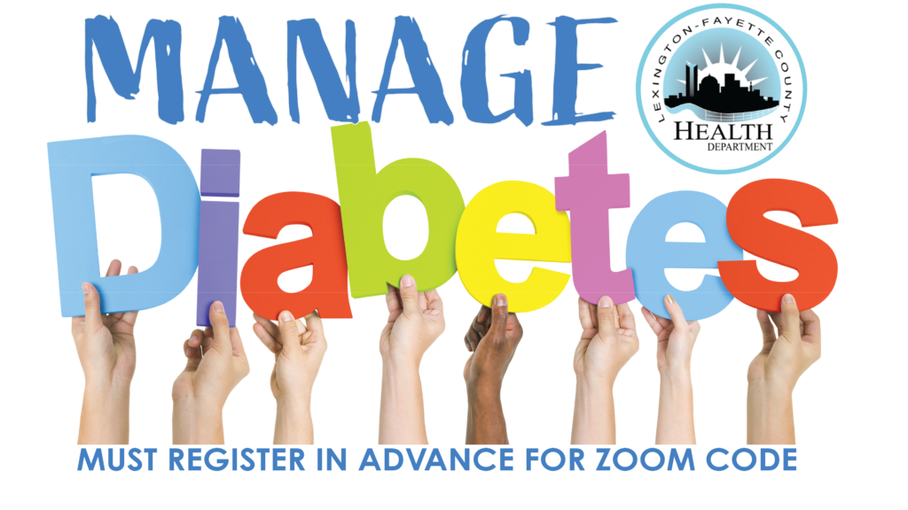 Statewide Living with Diabetes Online Workshop @ online via Zoom